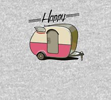Happy camper 2 Womens Fitted T-Shirt
