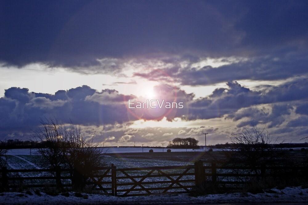 Moody Winter Sky by EarlCVans
