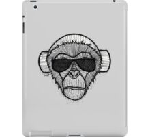 Monkey Headphones iPad Case/Skin