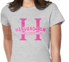 Welcome to Harvard Womens Fitted T-Shirt