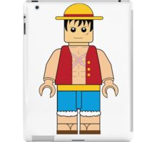 LUFFY STRAWHAT LEGO iPad Case/Skin
