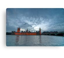 Houses of P Canvas Print