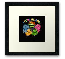 alien games Framed Print