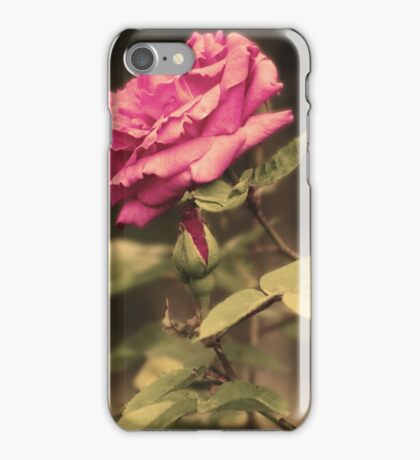 Rustic Rose iPhone Case/Skin