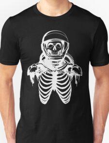 Astronaut Skeleton (White Version) Unisex T-Shirt
