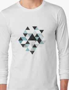 Graphic 202 Turquoise Long Sleeve T-Shirt