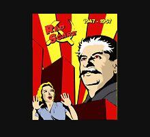 Stalin portrait red scare soviet union poster Unisex T-Shirt