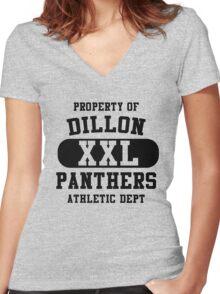 Friday Night Lights Dillon Panthers T-Shirt Tim Riggins Matt Saracen Coach Eric Taylor Women's Fitted V-Neck T-Shirt