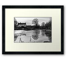 The Bridge Inn Framed Print