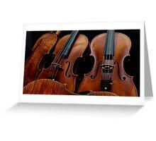 Modern Violin Collection - Stradivarius & friends Greeting Card