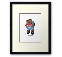 BEARS and FIGHTERS - Balrog Framed Print
