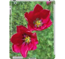 Two Red Tulips For You iPad Case/Skin