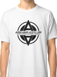 Batman - Arkham Asylum Black Classic T-Shirt
