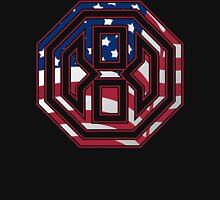 Octagon MMA USA Logo Unisex T-Shirt