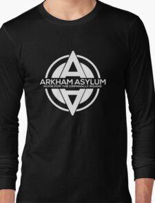 Batman - Arkham Asylum White Long Sleeve T-Shirt