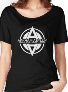 Batman - Arkham Asylum White Women's Relaxed Fit T-Shirt