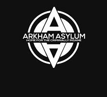 Batman - Arkham Asylum White Unisex T-Shirt