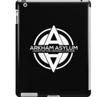 Batman - Arkham Asylum White iPad Case/Skin