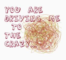 You are driving me to the crazy... Kids Clothes