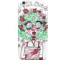 Lexi the hippie child iPhone Case/Skin