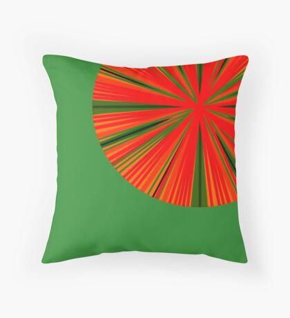 Citrus Circle Throw Pillow