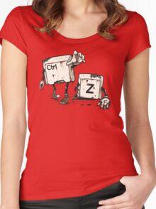 Walking Undoead Women's Fitted Scoop T-Shirt