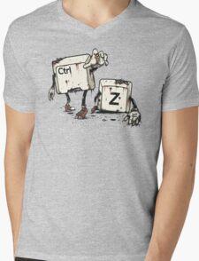 Walking Undoead Mens V-Neck T-Shirt