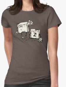 Walking Undoead Womens Fitted T-Shirt