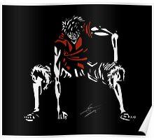 Luffy Gomu Gomu no Mi / Gear Second Poster