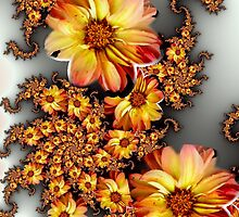 Bouquets of Dahlias by plunder