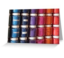 Color in a Jar Greeting Card