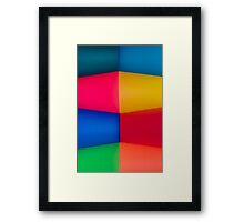 Abstract Multi Coloured Background 2 Framed Print