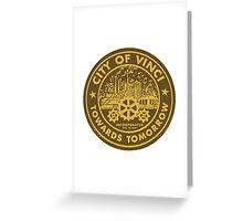 True Detective - City of Vinci logo Greeting Card