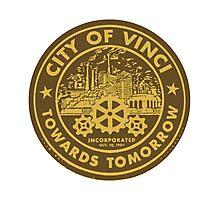 True Detective - City of Vinci logo Photographic Print