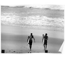 Surf Blokes Poster
