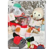 The Rodent Carol Singers iPad Case/Skin