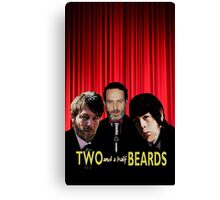 Two and a half Beards Canvas Print