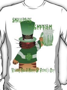 Shamrock O'Kitteh T-Shirt