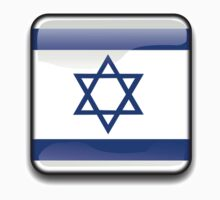 Israel Flag, Icon by tshirtdesign