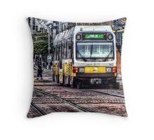 DART Light Rail Throw Pillow