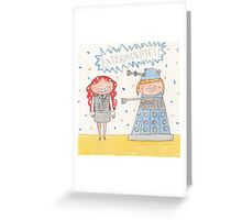 October - Year of Sisters - Watercolor Greeting Card