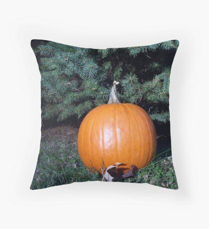 Pumpkin Time 3 Throw Pillow