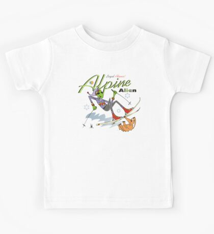 alpine alien Kids Tee