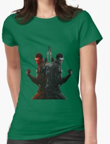 Double Jensen Womens Fitted T-Shirt