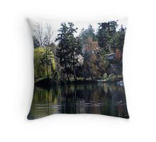Gorge Waterway (1) Throw Pillow