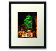 The Grand Theatre . Framed Print