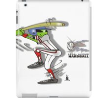 alien  baseball iPad Case/Skin