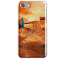 Terra di Siena iPhone Case/Skin