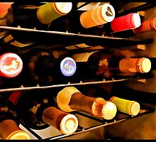 Wine Cellar Print by tvlgoddess