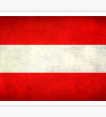 Austrian Flag Sticker